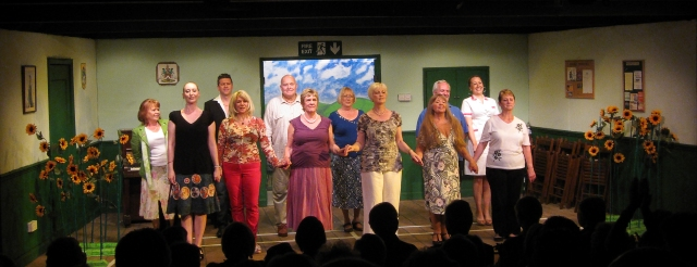 Calendar Girls curtain call - June 2013