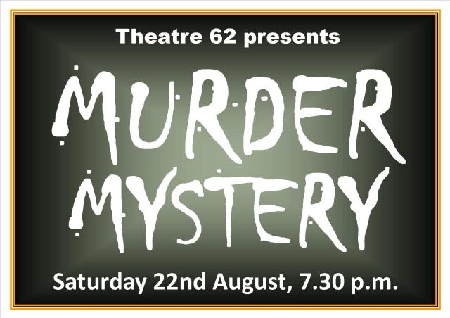 Murder Mystery poster landscape