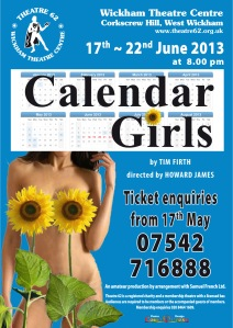 Calendar Girls - poster - Theate 62