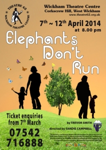 Elephants Don't Run  poster