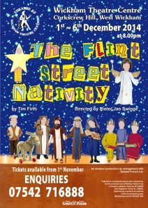 Flint Street Nativity poster