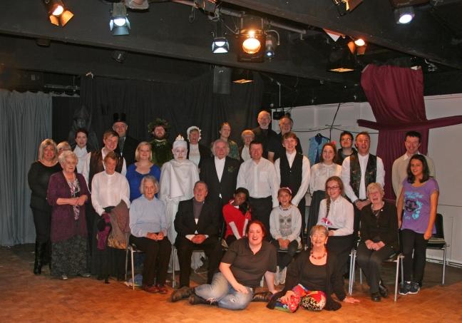 A Christmas Carol - cast & crew