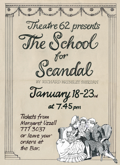 School_for_Scandal_January 1993