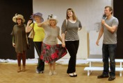 Ladies Day in rehearsal