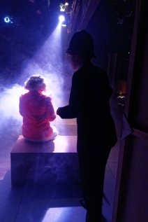 The 39 Steps: pic taken from the wings