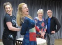 Life and Beth cast in rehearsal